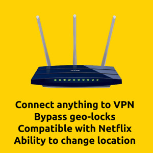 Pre Flashed / Pre Configured / Plug & Play VPN Router With Built In Subscription