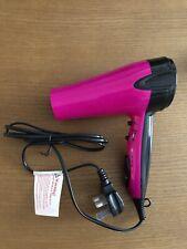 BNWT Ladies Bright Cerise Pink Hairdryer From Superdrug