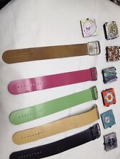 S.T.A.M.P.S. Lot 7 Watches 5 Bands