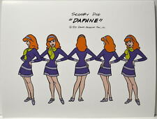 SCOOBY DOO MODEL SHEET PRINT - DAPHNE Hanna Barbera