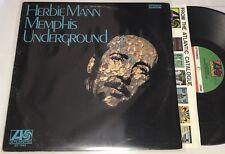 Herbie Mann Memphis Underground Vinyl LP Atlantic SD 1522 1969