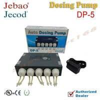 Jebao DP-5 5-Channel Programmable Auto Dosing Pump for Saltwater Reef Aquarium