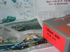 """SilverLine Tameo 1:43 KIT SLK 041 Lotus 80 F.1 Ford """"Martini""""Spanish GP 1979 NEW"""