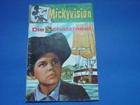 Mickyvision Nr.2, die Schatzinsel, Walt Disney Comic Heft, Ehapa Verlag,1963,top