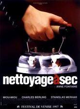 """Affiche 120 x 160 du film """"NETTOYAGE A SEC"""" de Anne Fontaine ."""