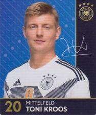 Rewe DFB Sammelkarten Fußball WM 2018 Russia Nr. 20 Toni Kroos Bild NEUWARE
