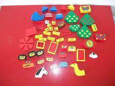 LEGO FABULAND lot de pièces arbre têtes animaux basic porte fenêtre