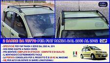 Barre Portatutto Portabagagli per Fiat Panda dal 2003>2011 da tetto portapacchi