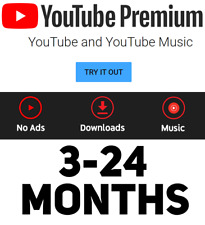YouTube Red/Premium WORLDWIDE | UPGRADE OWN АСС | FAST DELIVERY | 1-24 MONTHS