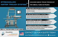 STREAMALIGN WATER TROUGH SYSTEM - ADVANCED QUENCH TROUGH TECHNOLOGY
