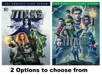 TITANS * 2 Options to choose from: The Complete First 1 and/or 2 Second Season