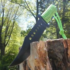 """12"""" Zombie Killer Full Tang Fixed Blade Survival Knife w/ Sheath Army Bowie"""