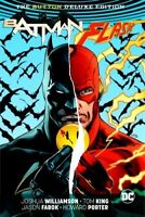 Batman/The Flash: The Button Deluxe Edition (DC) [New Book] Graphic Novel, Har