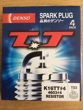 x4 Denso K16TT Twin Tip Spark Plugs 4603