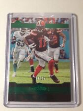 2016 Panini Plates & Patches Green Terrelle Pryor #25 Cleveland Browns SSP 13/25