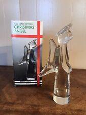 Vintage Angel Towle Sigma Tastesetter Full Lead Crystal Christmas Religious