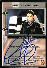 Babylon 5 Ccg Claudia Christian Premier Susan Ivanova Autographed
