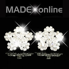 Daisy Flower Diamante Diamonte Earrings Bling Earrings