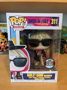 FUNKO POP VINYL BIRDS OF PREY HARLEY QUINN INCOGNITO #311 SPECIALITY SERIES