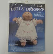 Ring of Posies Dolly 16in Doll Dress Cross Stitch Sewing Kit Sealed Kappie New