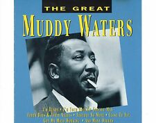 CD MUDDY WATERS the great PORTUGAL 1993 EX+