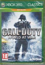 Xbox 360 **CALL OF DUTY WORLD AT WAR** nuovo sigillato italiano pal