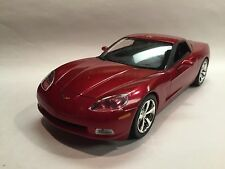2011 Corvette Coupe Promo Model Crystal Red MODELMAX PROMO BUYOUT