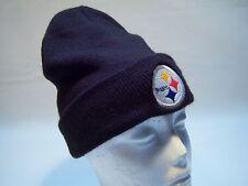 Reebok NFL Team Apparel Pittsburgh Steelers Beanie Hat Men's One Size