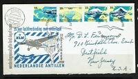 Netherlands Antilles - 1959 KLM First Day Cover Mint Set In Letter - Lot 090417