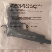"Weapon Protection Bag with Zerust Rust Prevention 10"" x 18"" Plain Closure 6 Pack"