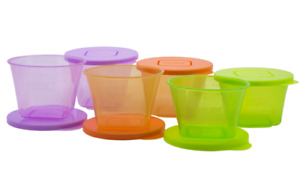 NUK Baby Stackable Food Storage Containers Microwave Freezer Safe 6 pack Weaning
