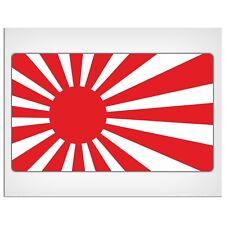 "165mm-6.5"" Japan rising sun flag Laminated Decal Sticker nissan honda  laptop"