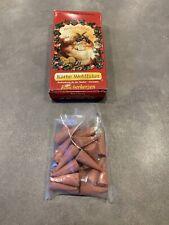 NIB Kathe Wohlfahrt Christmas Incense Smoker Cones Scents Germany Baked Apple