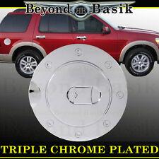 02-10 MERCURY MOUNTAINEER Triple ABS Chrome Fuel Gas Door Cover Cap Overlay #2