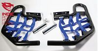 Yamaha Raptor 660 2001-2005 Quad ATV Nerf Bars Nets Fittings Blk A (BlueN) #7