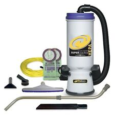 ProTeam Backpack Vacuums, Super CoachVac Commercial Backpack Vacuum Cleaner w.