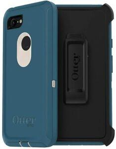 OtterBox Defender Series Case & Holster Google Pixel 3 XL Big SUR, Easy Open Box