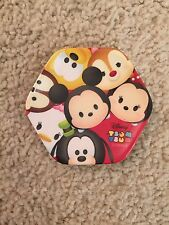 Tsum Tsum Japan Mini Plate Red Disney Limited Authentic Minnie Mickey New