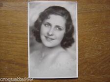 carte postale ancienne CPA Postcard MISS EUROPA ROUMANIE