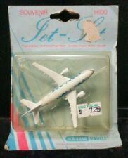 Vintage Pan Am National Airlines Jet Set Boeing Souvenir Plane Die Cast 1:600