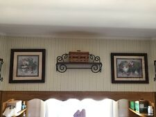 Farmhouse Grouping Set 3 Vintage Home Interiors & Gifts Wood