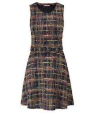 Joe Browns Wild Thing Check Dress Size UK 16 Lf172 JJ 05
