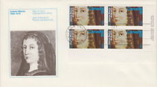 CANADA #615 8¢ JEANNE MANCE LR PLATE BLOCK FIRST DAY COVER