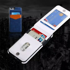 Slim Leather Wallet Credit Card Holder Stand Back Case Cover for iPhoneX 7 8plus