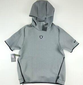 Nike Raiders Official On Field Sideline Repel Pullover Hoodie AR6101 $150 Medium