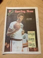 FEBRUARY 13,1971-THE SPORTING NEWS-LEW ALCINDOR OF THE MILWAUKEE BUCKS