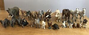 Schleich animals bundle 24 Farm Zoo