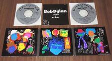 BOB DYLAN Japan PROMO ONLY 2 x CD digipack BOOKLET 1993 official DYLAN GA ROCK