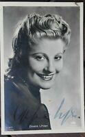 34735 Foto Ross Editore Autografo Ak Film Attrice Gisela Uhlen Del 1940