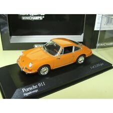 PORSCHE 911 COUPE 1964 Orange MINICHAMPS 1:43